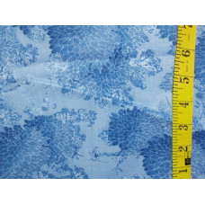 Tone on tone  Blue Floral