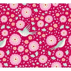 Birdpond Lovebirds Raspberry